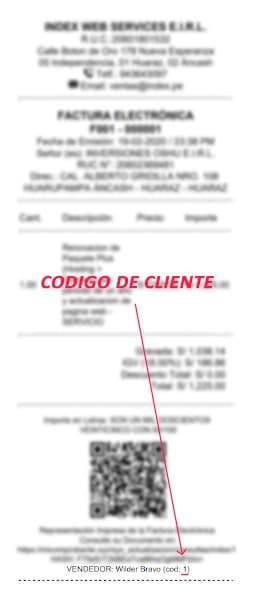 Codigo Cliente